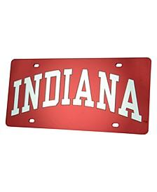Indiana Hoosiers Laser Tag License Plate
