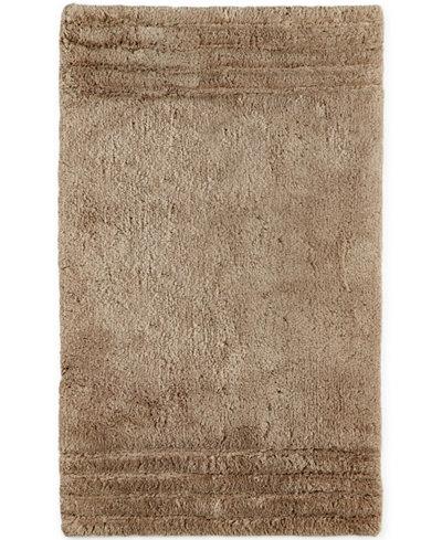Closeout hotel collection microcotton 27 x 44 bath rug bath rugs bath mats bed bath for Hotel collection bathroom rugs
