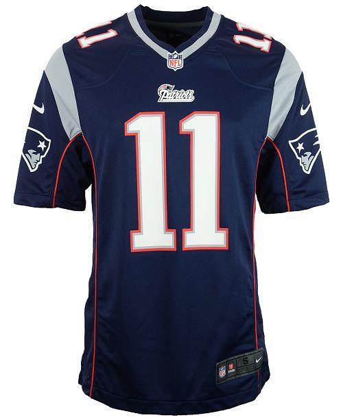 Nike Men s Julian Edelman New England Patriots Game Jersey - Sports ... 62ecbcd0a3
