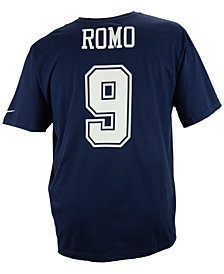 Nike Men's Tony Romo Dallas Cowboys Pride Name and Number T-Shirt