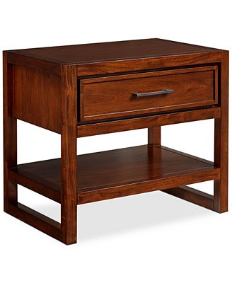 CLOSEOUT Battery Park Nightstand Created for Macy s Furniture