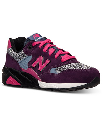 new balance women's 580 elite edition casual sneakers from