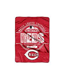 Northwest Company Cincinnati Reds Micro Raschel Structure Blanket