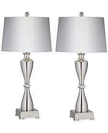 Pacific Coast Set of 2 Brancus Table Lamps