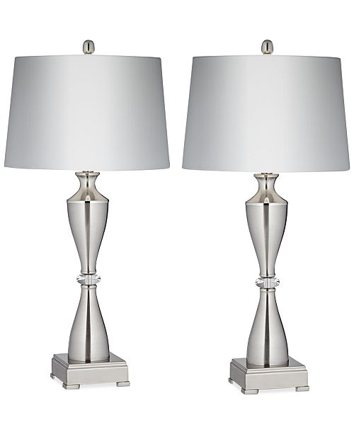 Kathy Ireland Pacific Coast Set of 2 Brancus Table Lamps