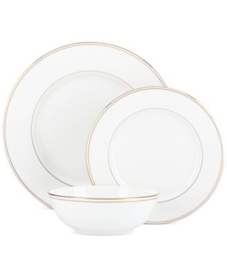 Federal Gold 3-Pc. Place Setting
