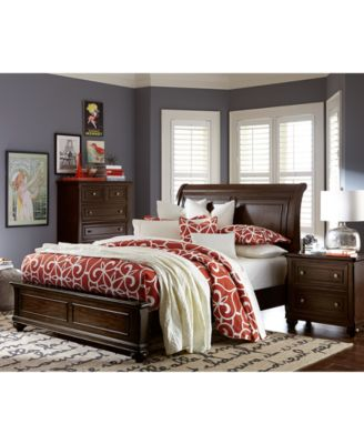 Clarkdale Queen Pc Bedroom Set Bed Nightstand Dresser
