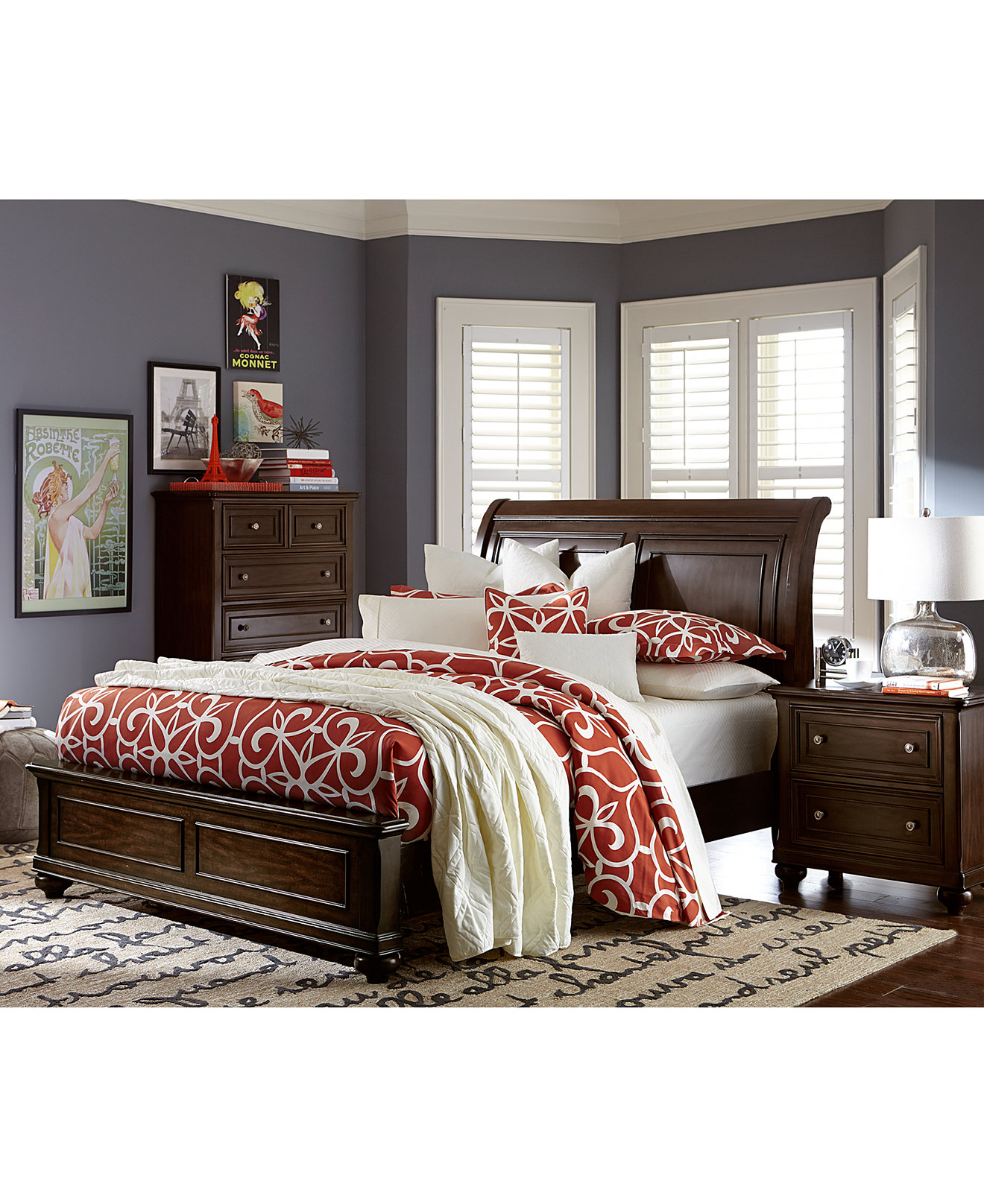 larger view. Clarkdale Bedroom Furniture  Created for Macy s   Furniture   Macy s