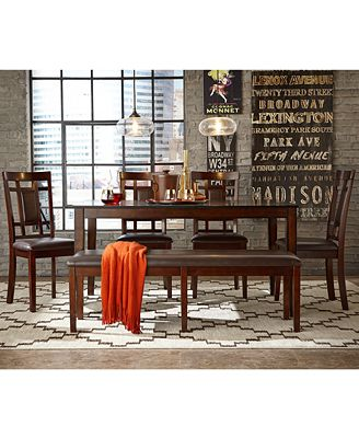 CLOSEOUT! Delran Dining Room Furniture Collection, Created for Macy's