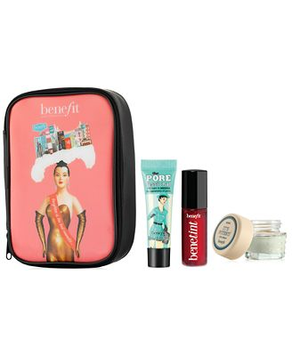 Receive a FREE 4-Pc. Deluxe Gift with $50 Benefit Cosmetics purchase