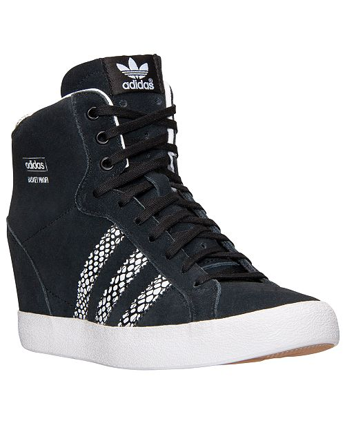 80378e00102 adidas Women s Basket Profi Up Casual Sneakers from Finish Line ...