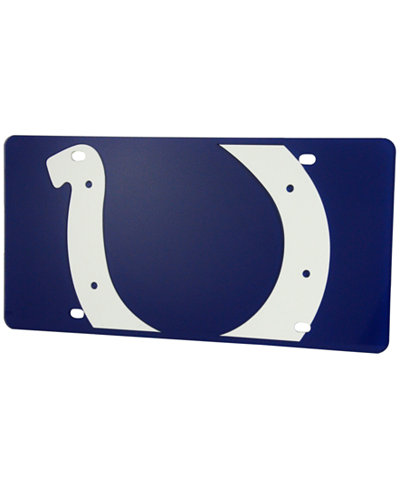 Stockdale Indianapolis Colts Printed License Plate