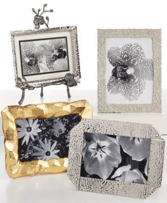 Michael Aram Antique Gold-Tone Mini Palm Frame - Picture Frames - Macy\'s