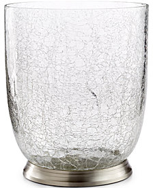 Paradigm Bath Accessories Heirloom Crackle Wastebasket