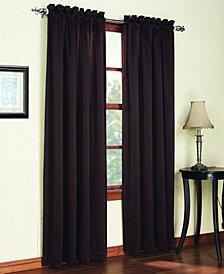 "Sun Zero Grant Room Darkening Pole Top 54"" x 84"" Curtain Panel"