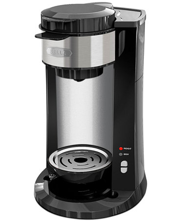 Bella 14392 Dual Brew Coffee Maker Coffee Tea