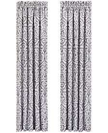 "J Queen New York Babylon Pair of 50"" x 84"" Window Panels"