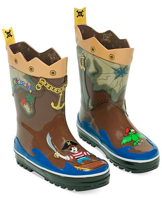 Kidorable Little Boys' Pirate Rain Boots - Shoes - Kids & Baby ...