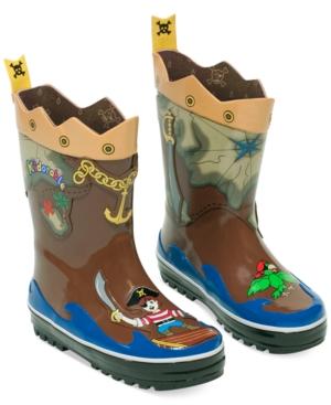Kidorable Little Boys' Pirate Rain Boots