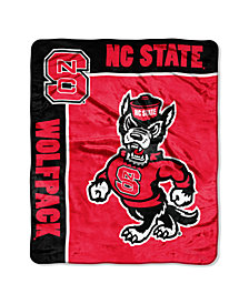 Northwest Company North Carolina Wolfpack Plush Team Spirit Throw Blanket