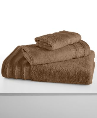 "Image of CLOSEOUT! Charter Club Classic Pima Cotton 13"" Square Washcloth, Created for Macy's"