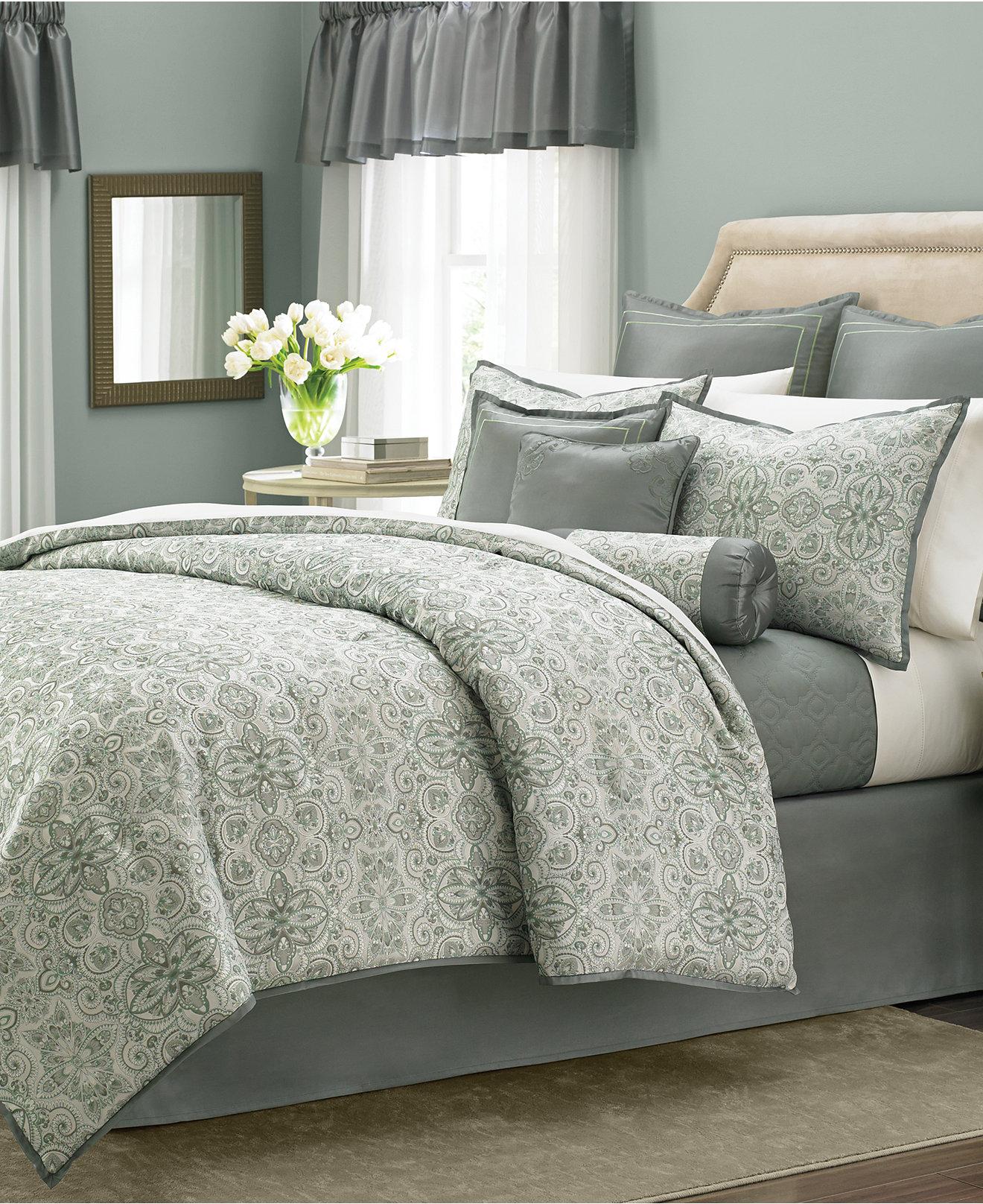 dillards collections comforter bedding brand pale lauren sets blue zi home ralph