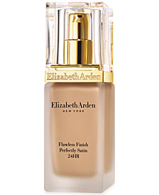 Elizabeth Arden Flawless Finish Perfectly SATIN 24HR Makeup Broad Spectrum SPF 15, 1.0 oz.
