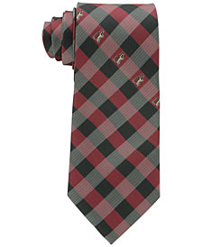 Eagles Wings Arizona Coyotes Checked Tie