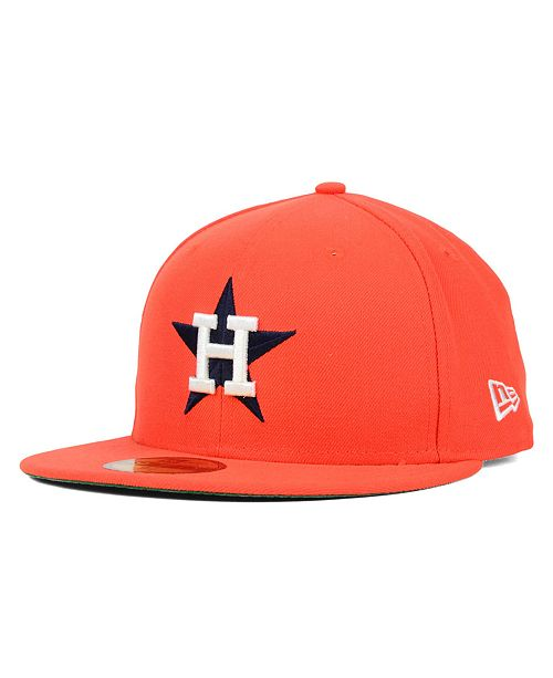 New Era Houston Astros MLB Cooperstown 59FIFTY Cap - Sports Fan Shop ... 2ce71a8d6fe8