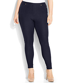 MICHAEL Michael Kors Plus Size Pull-On Skinny Pants