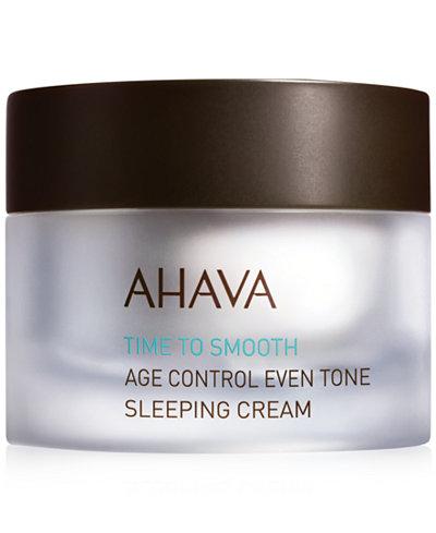 Ahava Age Control Even Tone Sleeping Cream