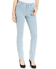Petite Tummy-Control Slim-Leg  Jeans, Petite & Petite Short, Created for Macy's