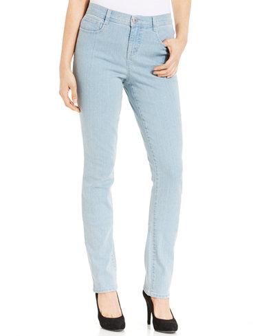 Style&co. Tummy-Control Slim-Fit Jeans, Sedona Wash