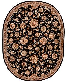 "Nourison Wool & Silk 2000 2360 7'6"" x 9'6"" Oval Rug"