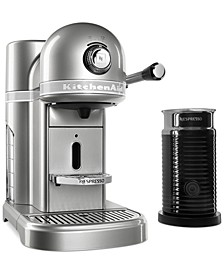 Nespresso Espresso Maker with Milk Frother KES0504
