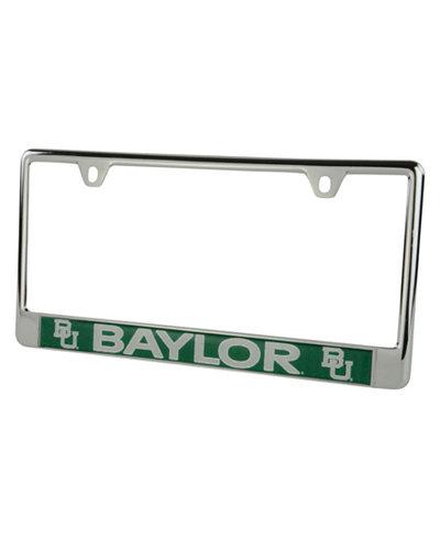 Stockdale Baylor Bears Laser License Plate Frame