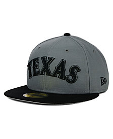 New Era Texas Rangers Gray 59FIFTY Cap