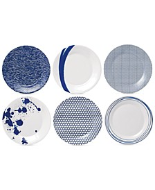 Pacific Accent Plates, Set of 6