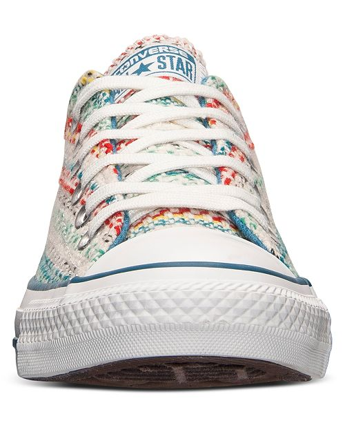 bd5193013fd7 ... Converse Women s Chuck Taylor Ox Winter Knit Casual Sneakers from Finish  Line ...