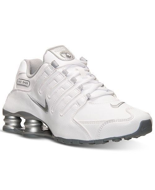 b81391fdcf6e Nike Women s Shox NZ EU Running Sneakers from Finish Line   Reviews ...