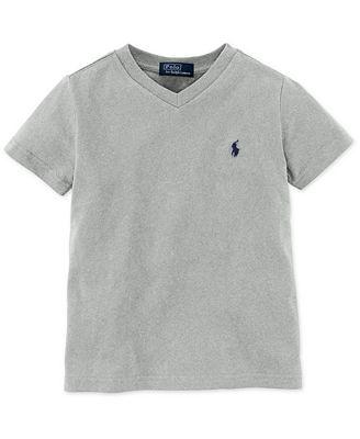 Polo Ralph Lauren Toddler Boys V Neck Tee Shirts Tees Kids