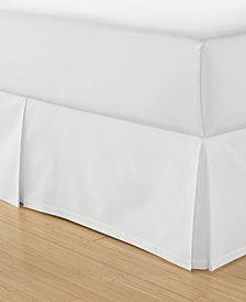 Martha Stewart Collection Cotton Pique Bedskirt and European Sham