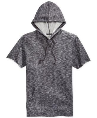 American Rag Men's Marled Short-Sleeve Hoodie - Hoodies ...