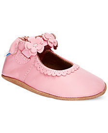 Robeez Soft Soles Claire Mary Jane Shoes, Baby Girls