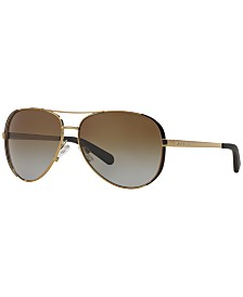 Michael Kors CHELSEA Polarized Sunglasses , MK5004