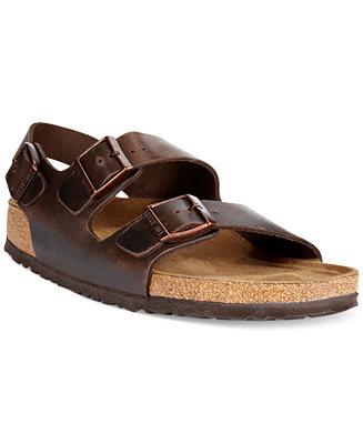 5a71f0eeb15f Birkenstock Men s Milano Sandals   Reviews - All Men s Shoes - Men - Macy s