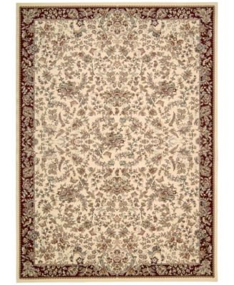 """Home Antiquities Timeless Elegance Ivory 7'10"""" x 10'10"""" Area Rug"""