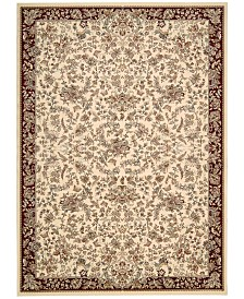 "kathy ireland Home Antiquities Timeless Elegance Ivory 7'10"" x 10'10"" Area Rug"