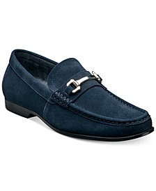 Stacy Adams Ellson Suede Bit Loafer
