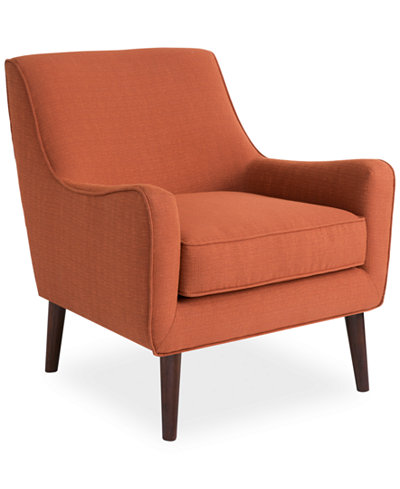Dylan Fabric Accent Chair Quick Ship Furniture Macy S